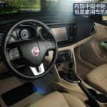 Fiat Viaggio steering wheel