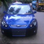 Ford Figo Facelift front fascia