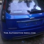 Ford Figo Facelift rear