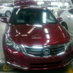 Honda Accord 2013 China front fascia