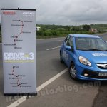 Honda Brio Drive to Discover route map