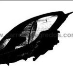 Honda Brio head lamp Patent filing