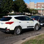 2013 Hyundai Santa Fe Michigan test mule
