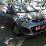 Kia Picanto testing for Mahindra