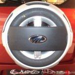 Mahindra Quanto spare wheel