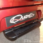 Mahindra Quanto number plate enclosure