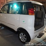 Mahindra Quanto with rear door open