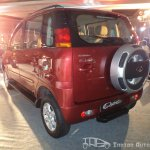 Mahindra Quanto rear three quarters