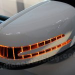 Mercedes B Class side mirror illuminated
