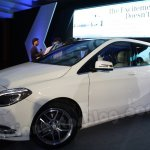 Mercedes B Class at the Mumbai launch