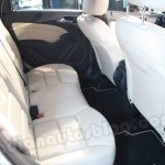 Mercedes B Class rear seat legroom