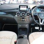 Mercedes B Class dashboard