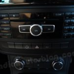 Mercedes B Class audio and temperature controls