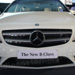 Mercedes B Class front, head-on