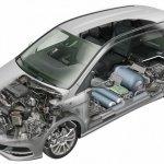 Mercedes Benz B 200 Natural Gas Drive technology