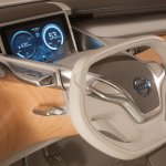 Nissan Terra FCEV Concept  interiors
