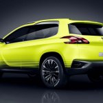 Peugeot 2008 Crossover Concept rear