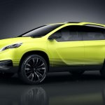 Peugeot 2008 Crossover Concept side