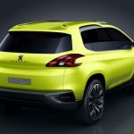 Peugeot 2008 Crossover Concept rear profile