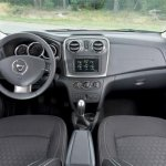2013 Renault Logan dashboard