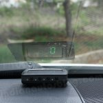 Toyota Camry Head-Up Display