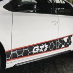 VW Polo GTI Carbon Edition body decal