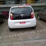 VW Up! India test mule