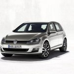 Volkswagen Golf MK7 front fascia