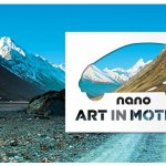 Tata Nano Art mountain range