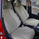 Honda Jazz facelift front seats