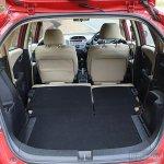 Honda Jazz facelift bootspace