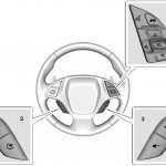 chevrolet corvette C7 steering wheel