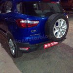 Ford EcoSport petrol variant rear