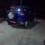 Ford EcoSport petrol variant rear three quarters