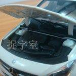Mercedes CLA Class Diecast model hood ajar