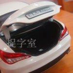 Mercedes CLA Class Diecast model boot lid ajar