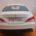 Mercedes CLA Class Diecast model rear fascia
