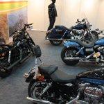 Times Auto Expo Chennai Harley Davidson stall