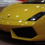 Times Auto Expo Chennai Lamborghini gallardo snout