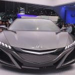 2013 Acura NSX Concept front fascia