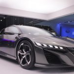 2013 Acura NSX front three quarters left