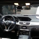 2014 Mercedes E Class live images dashboard
