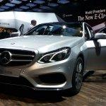 2014 Mercedes E Class live images front three quarters