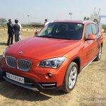 BMW X1 facelift front left quarter