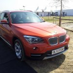 BMW X1 facelift front right quarter