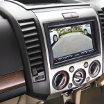 Ford Endeavour Alterrain Edition navigation display