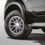 Ford Endeavour Alterrain Edition studio shot alloy wheel
