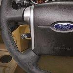 Ford Endeavour Alterrain Edition studio shot steering wheel