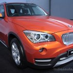 BMW X1 facelift front three quarters left