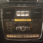 Mercedes G63 AMG center console